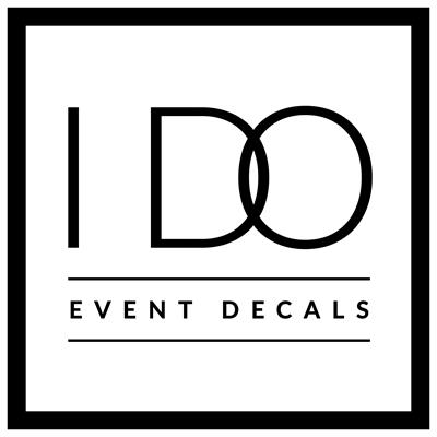 Unbelievable Events Event Planning Sponsor Prince George County - I Do Event Decals